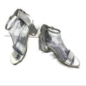 Unlisted Kenneth Cole Clear Mirror Ankle Sandal 💍